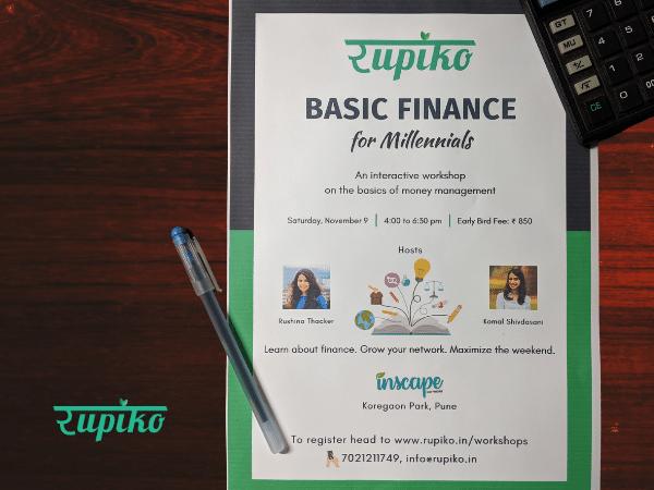 Basic Finance for Millennials – Pune Edition