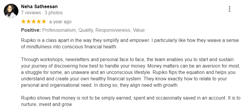 Happy Attendee Review - Neha