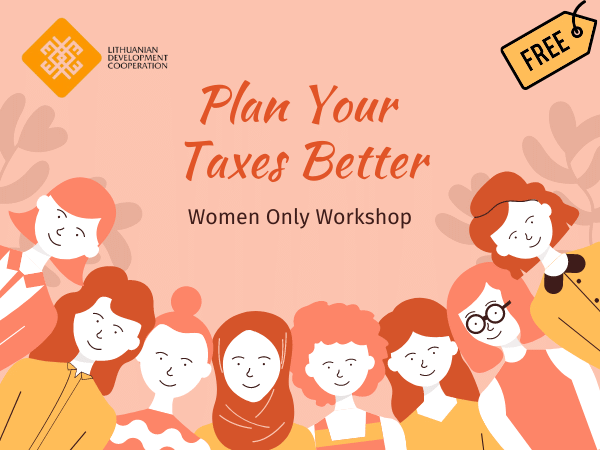 Plan Your Taxes Better - Women Only